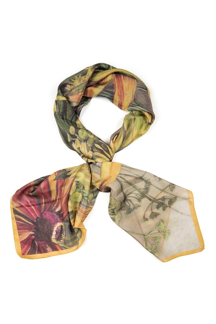 Шелковый платок «Полевые цветы»