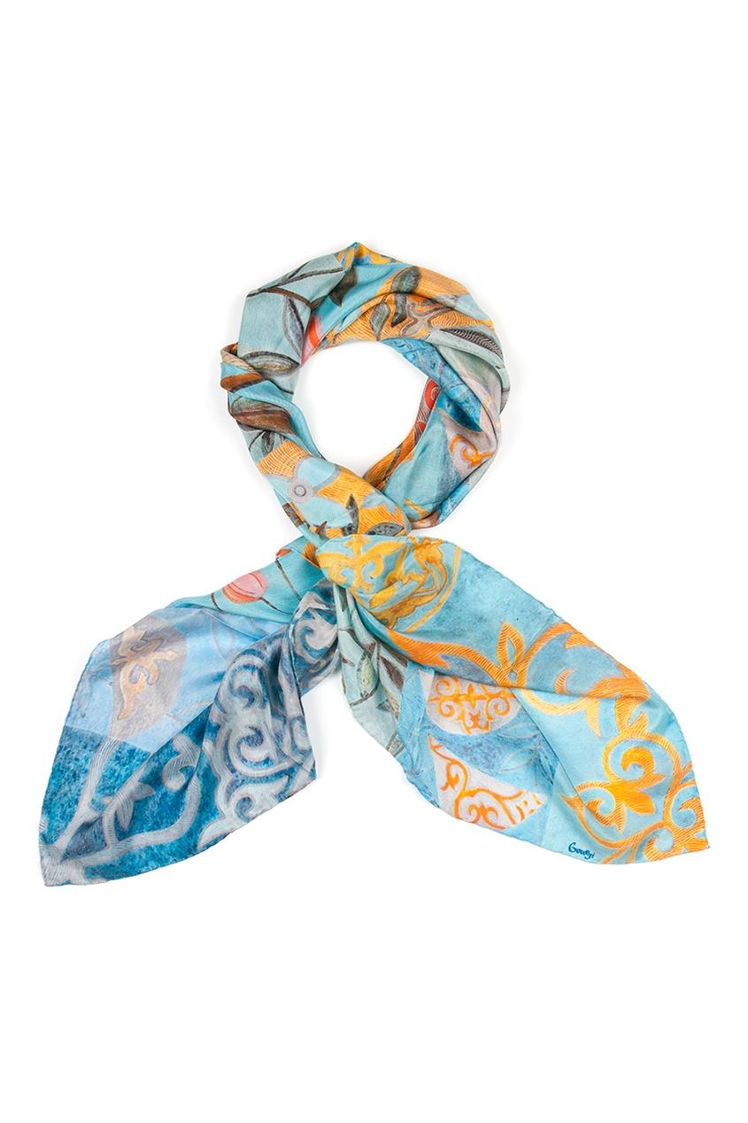 Шелковый платок «Праздник весны»