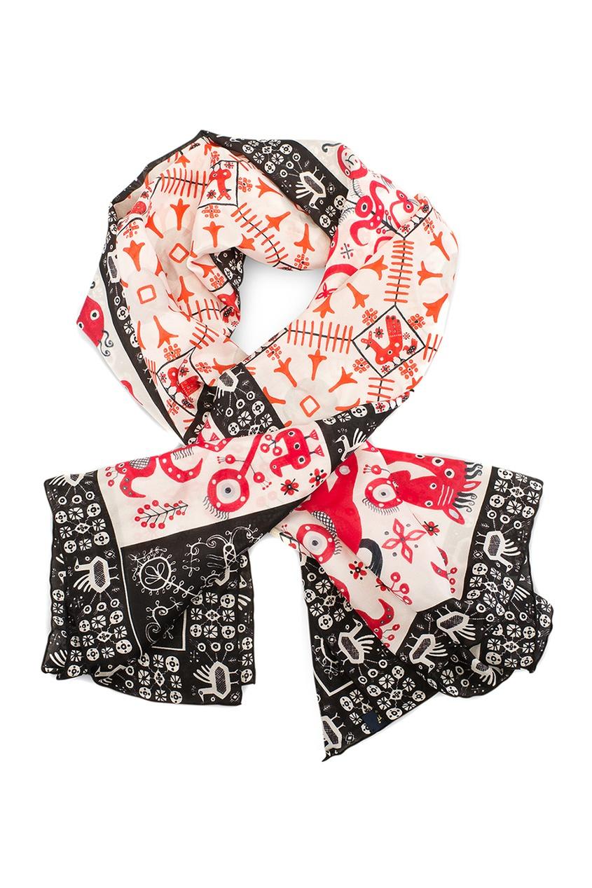 Gourji Шелковый платок «Русский орнамент» gourji