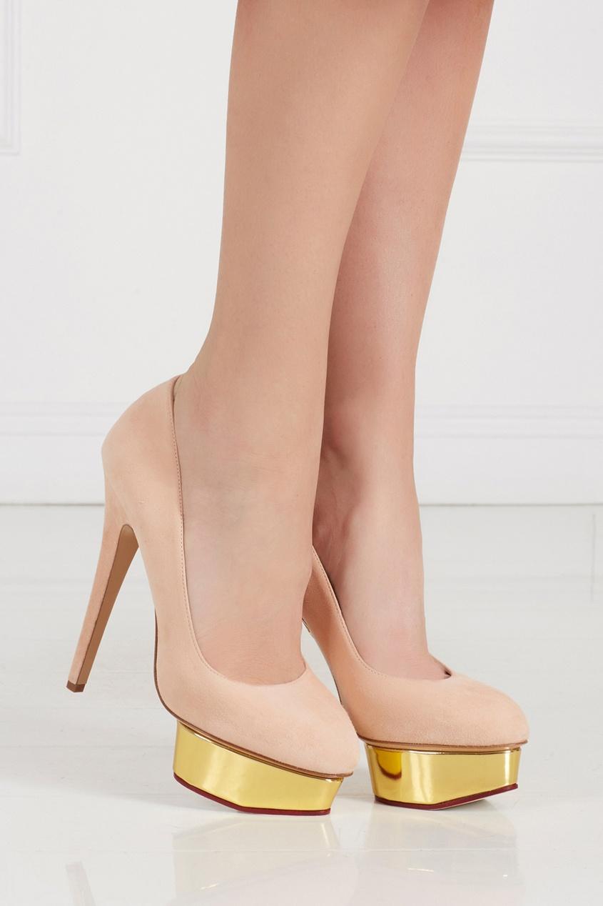 Замшевые туфли Dolly