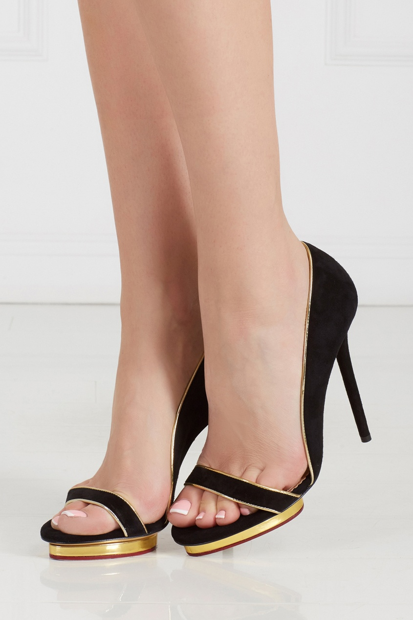Замшевые туфли Christine 125