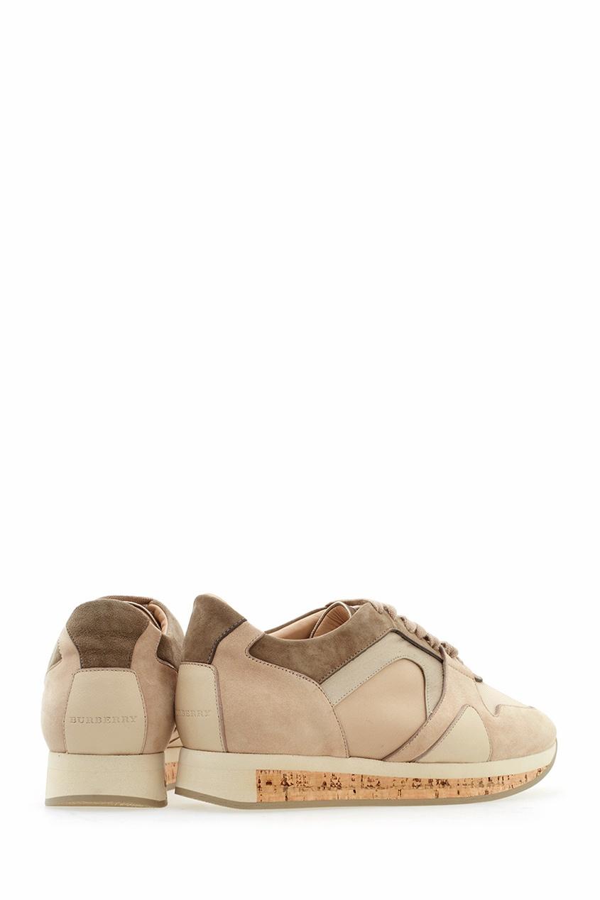 Кожаные кроссовки The Field Sneaker