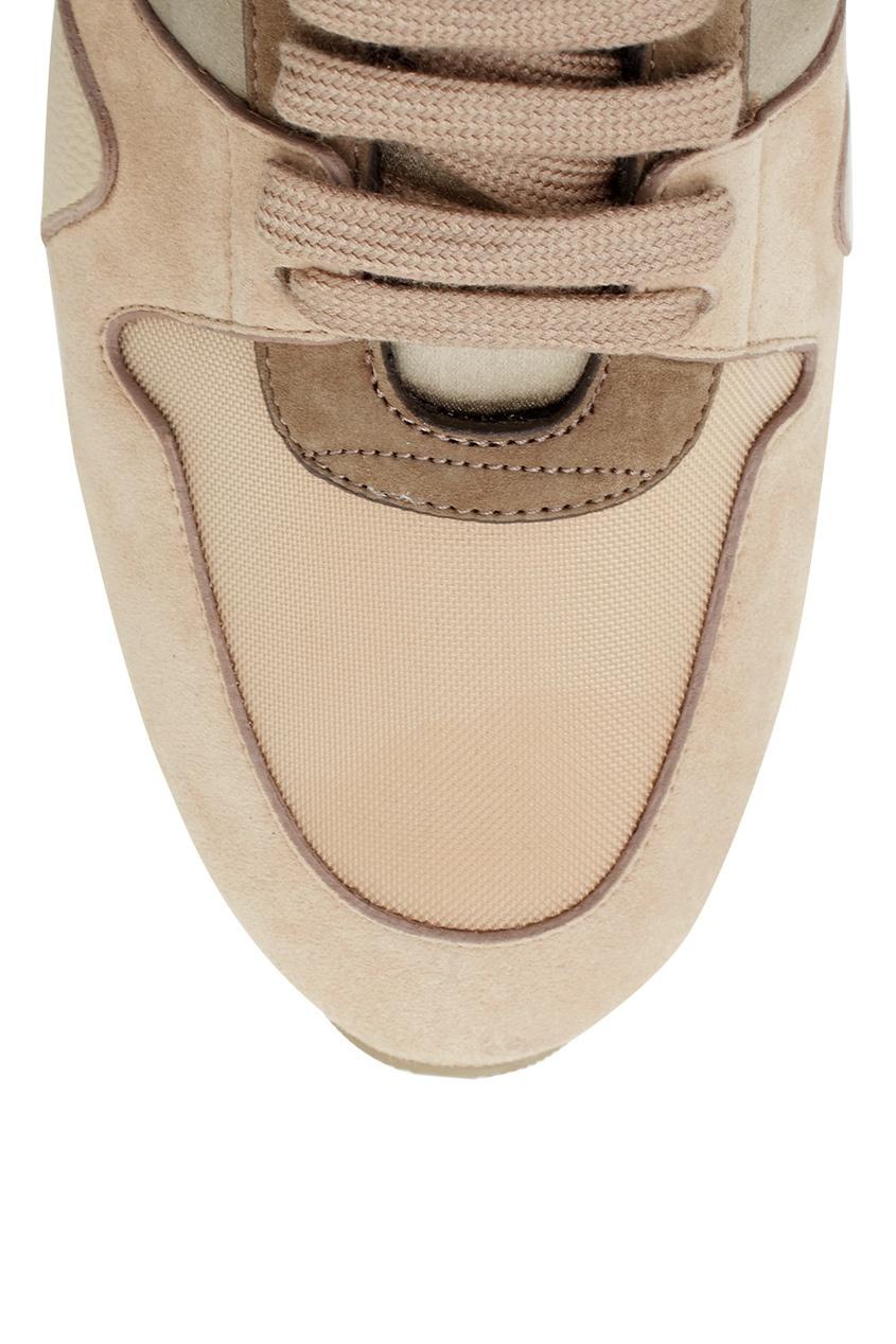 Кожаные кроссовки The Field Sneaker от AIZEL