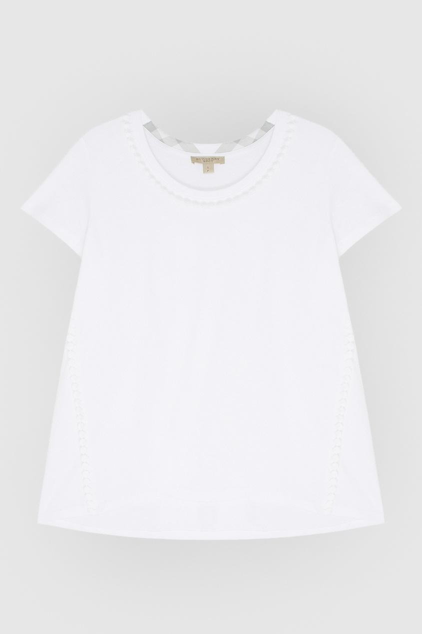 Burberry Хлопковая футболка
