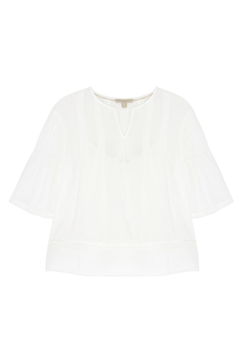 Burberry Хлопковая блузка
