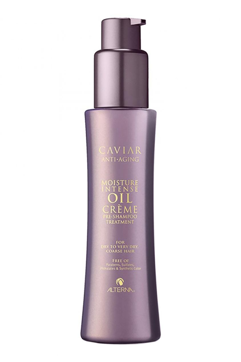 Alterna Интенсивно увлажняющая сыворотка-подготовка Caviar Moisture Intense Oil Crème pre-Shampoo 125ml alterna увлажняющий шампунь c морским шелком caviar anti aging replenishing moisture shampoo 40 мл