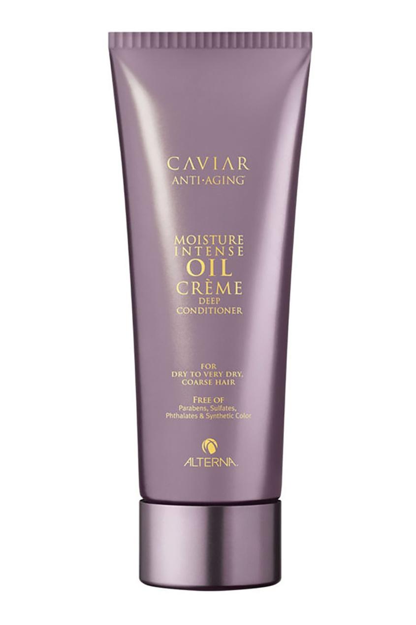 Alterna Интенсивно увлажняющий кондиционер Caviar Moisture Intense Oil Crème Deep 207ml alterna увлажняющий шампунь c морским шелком caviar anti aging replenishing moisture shampoo 40 мл