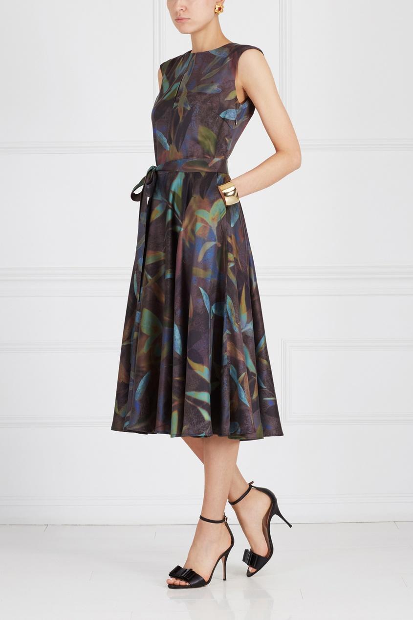 Pallari Платье с принтом