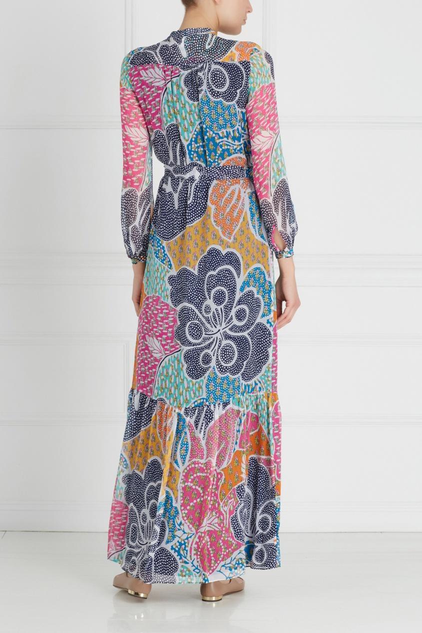 Шелковое платье Cambrie