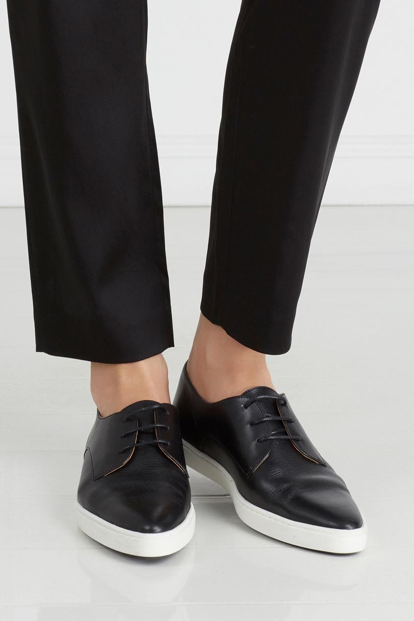 Кожаные ботинки Donna