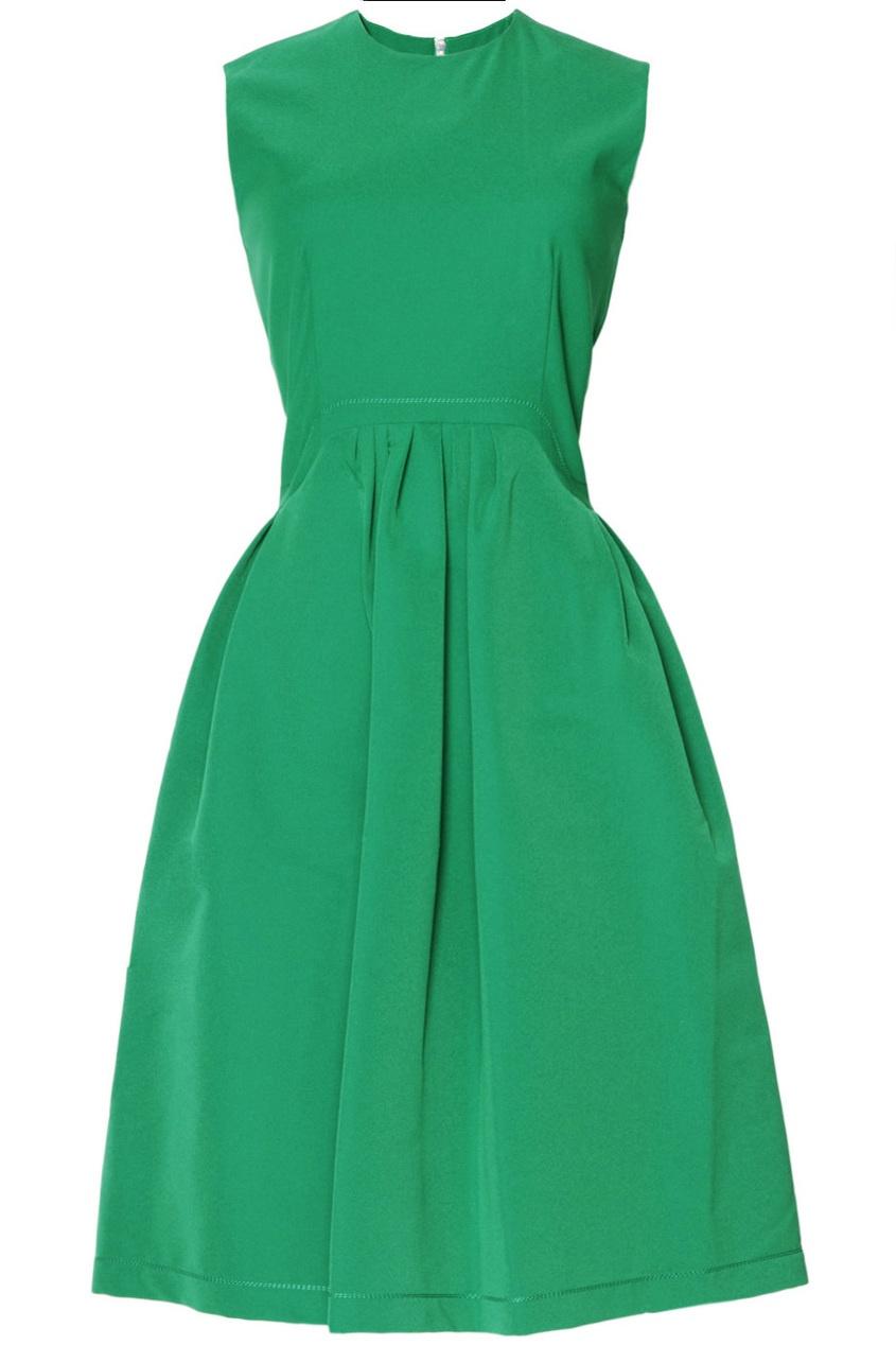 Платье с пышной юбкой Preen