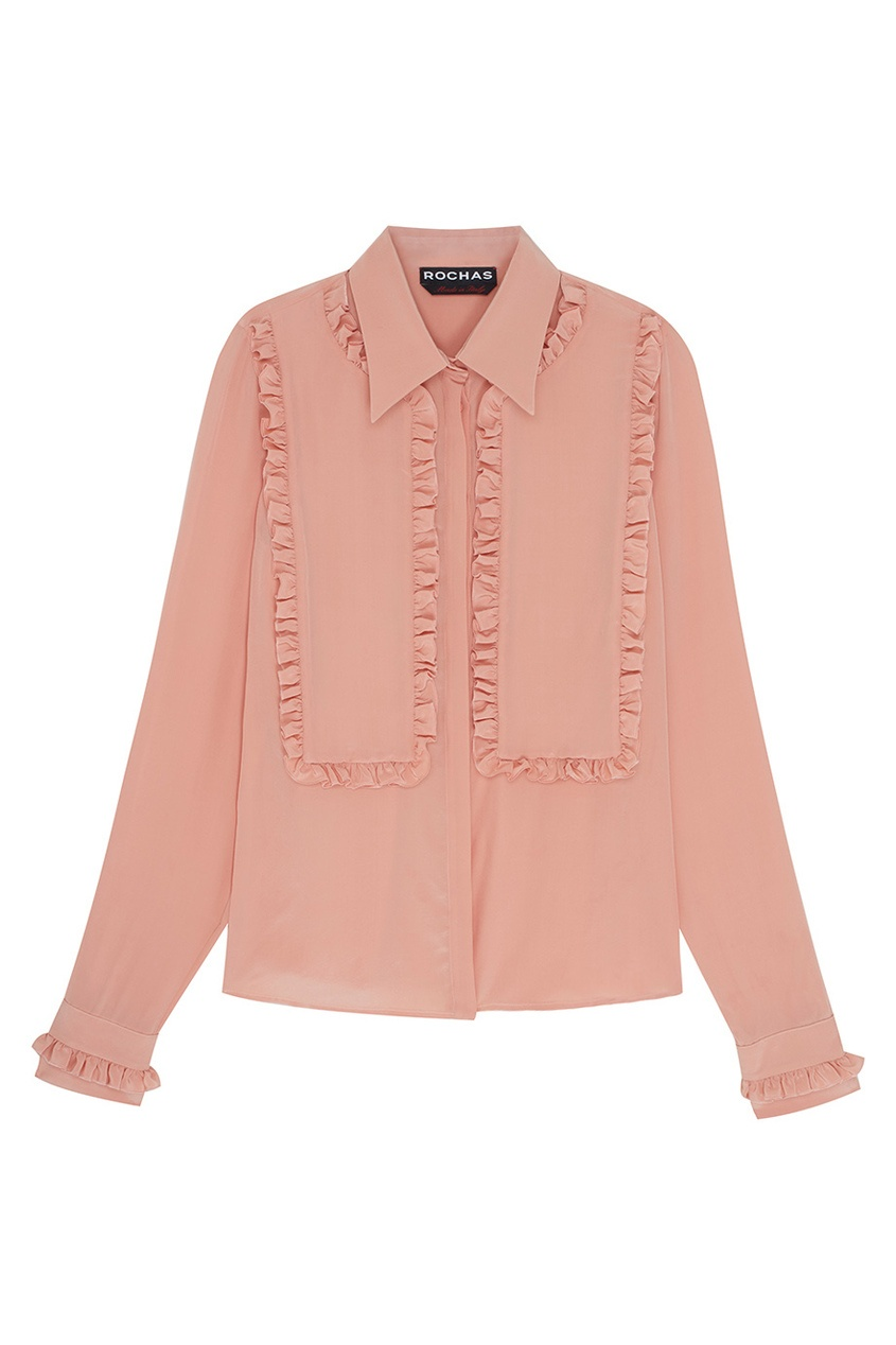 Rochas Шелковая блузка