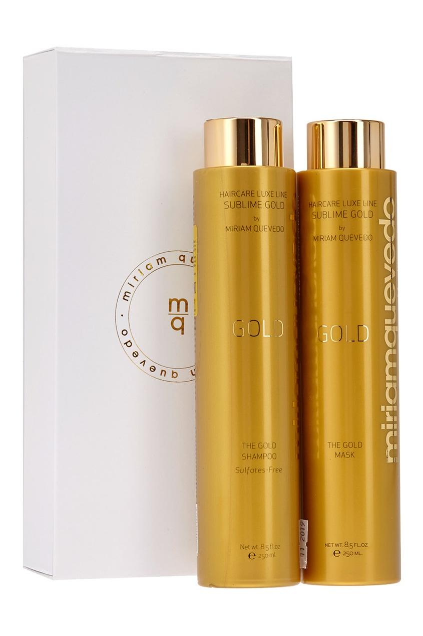 Золотой набор для интенсивного питания волос The Intense Nourishing Sublime Gold Set