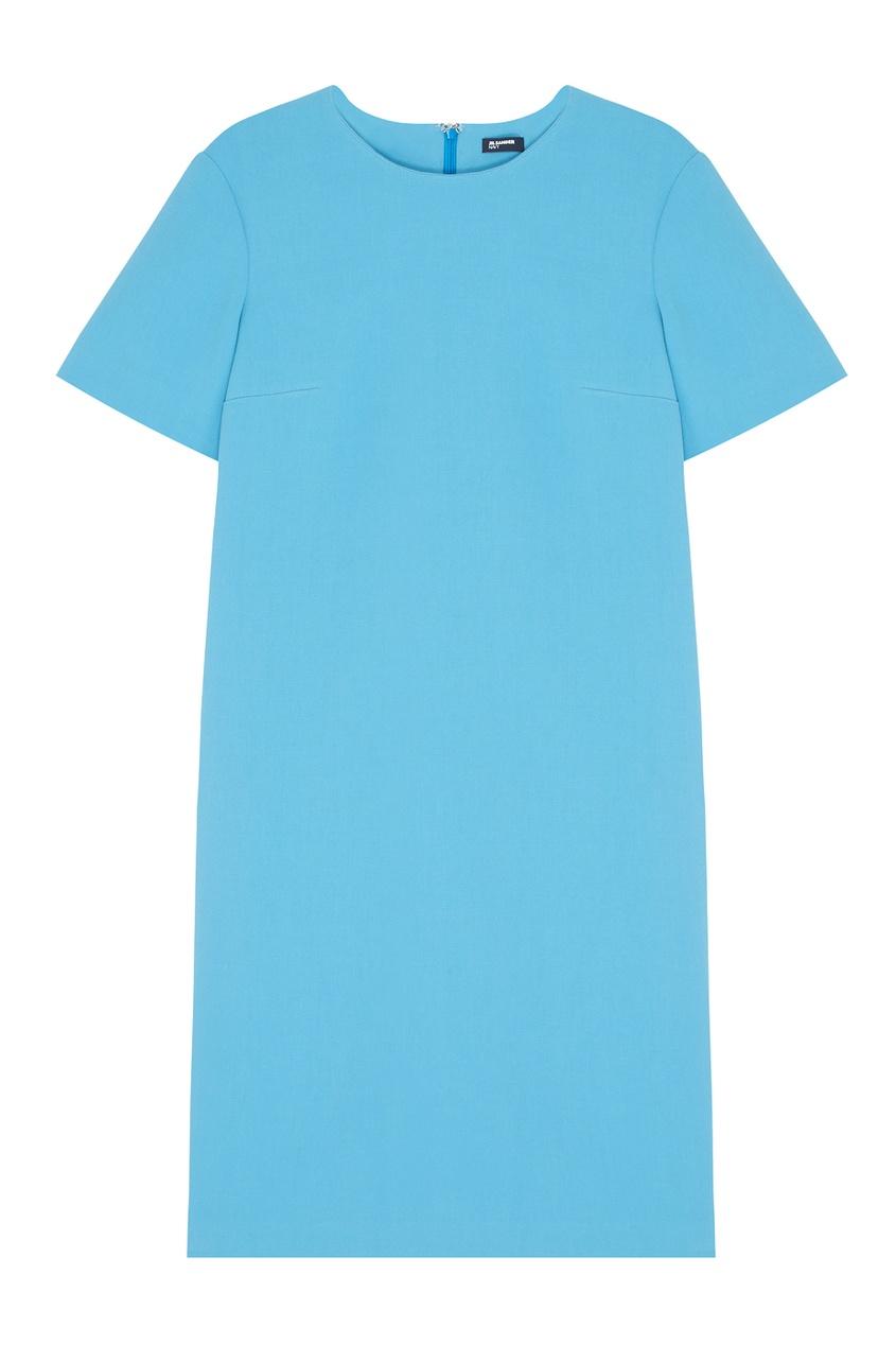 Jil Sander Navy Хлопковое платье