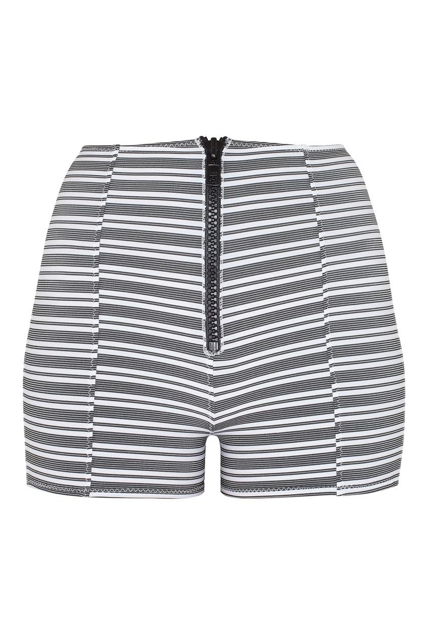 Lisa Marie Fernandez ����� � ������� Bws Zip Stripe Short