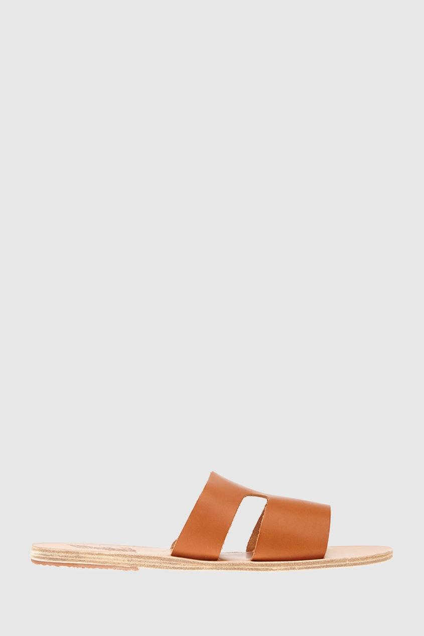 Кожаные сандалии Apteros
