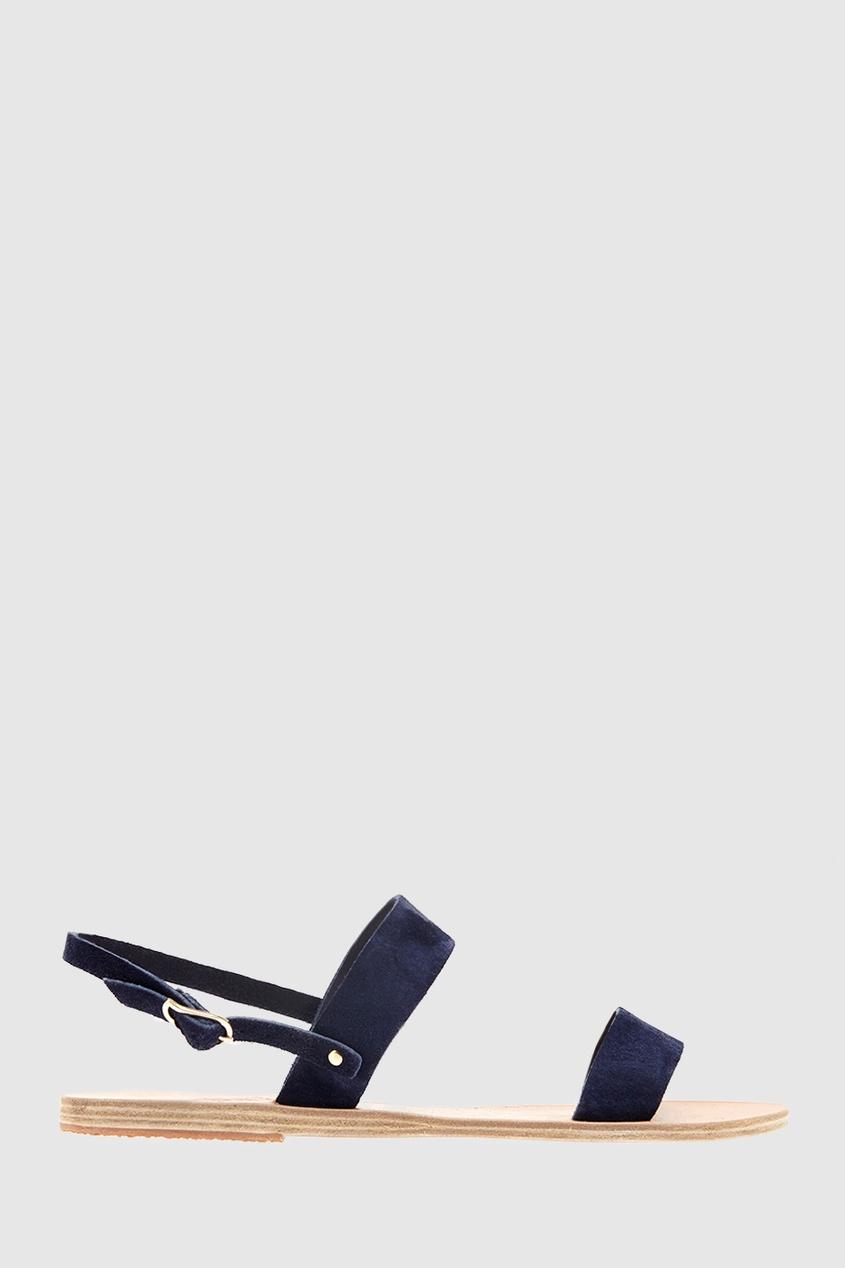 Замшевые сандалии Clio