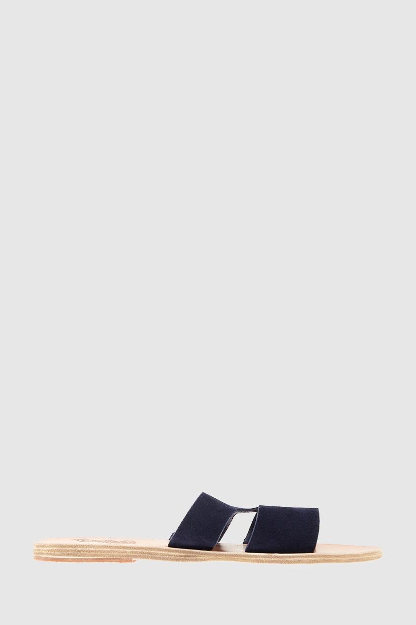 Замшевые сандалии Apteros