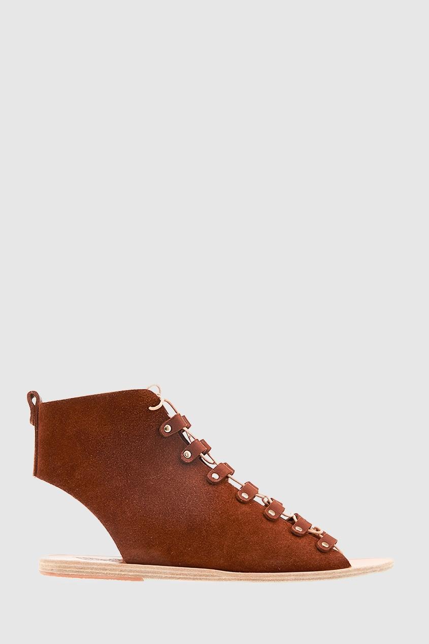 Замшевые сандалии Mache