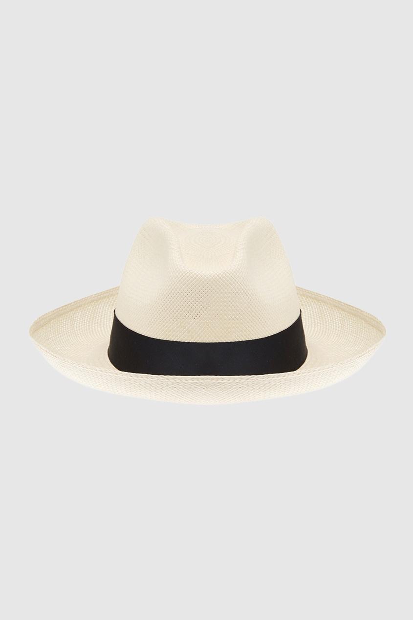 Соломенная шляпа Clasico White
