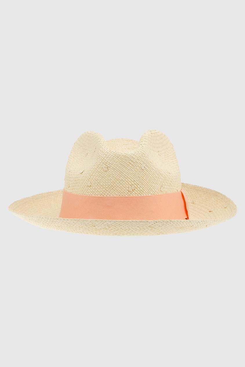 Соломенная шляпа Clasico Natural Knots