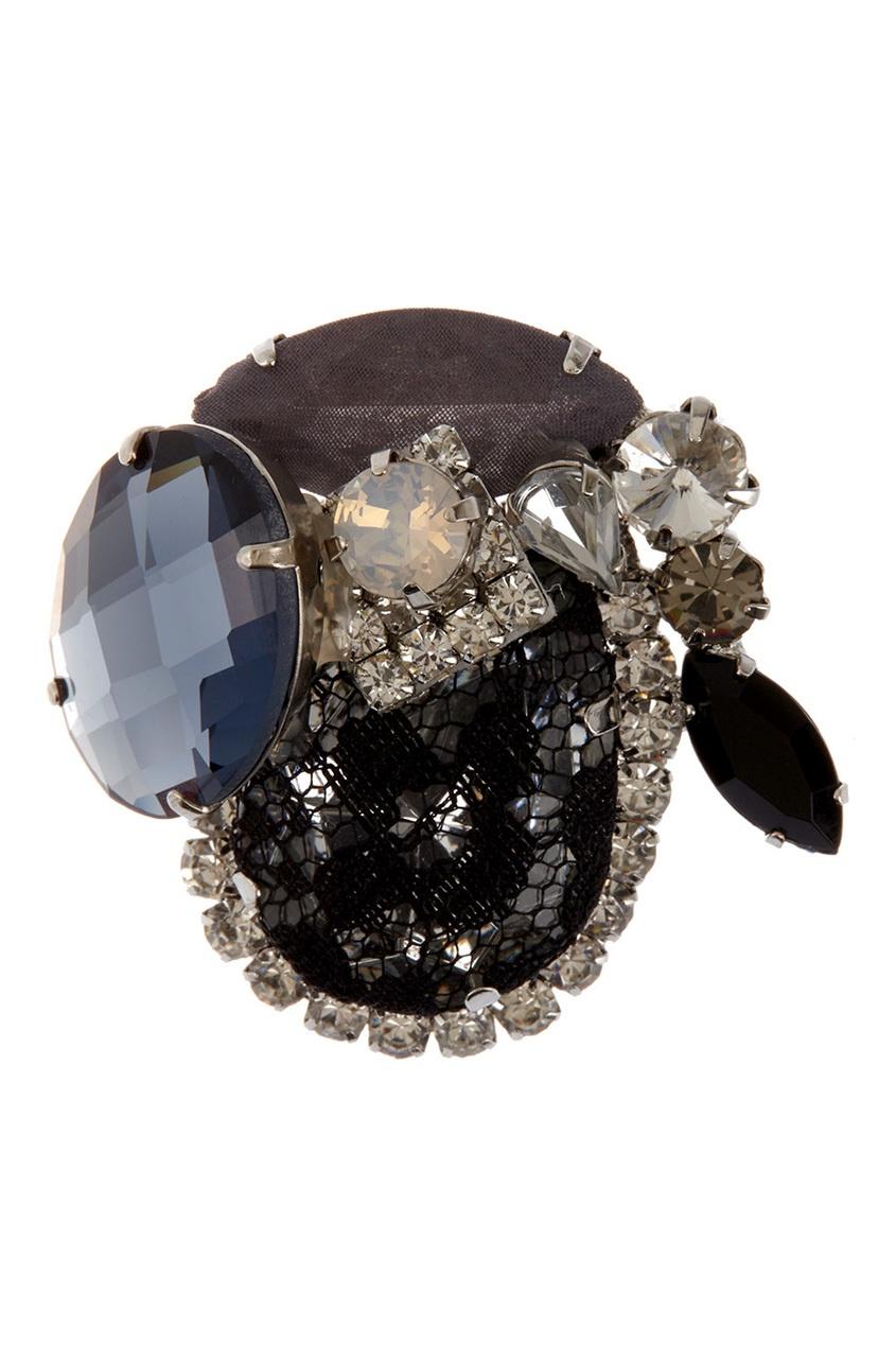 Herald Percy Брошь с кристаллами herald percy колье с кристаллами
