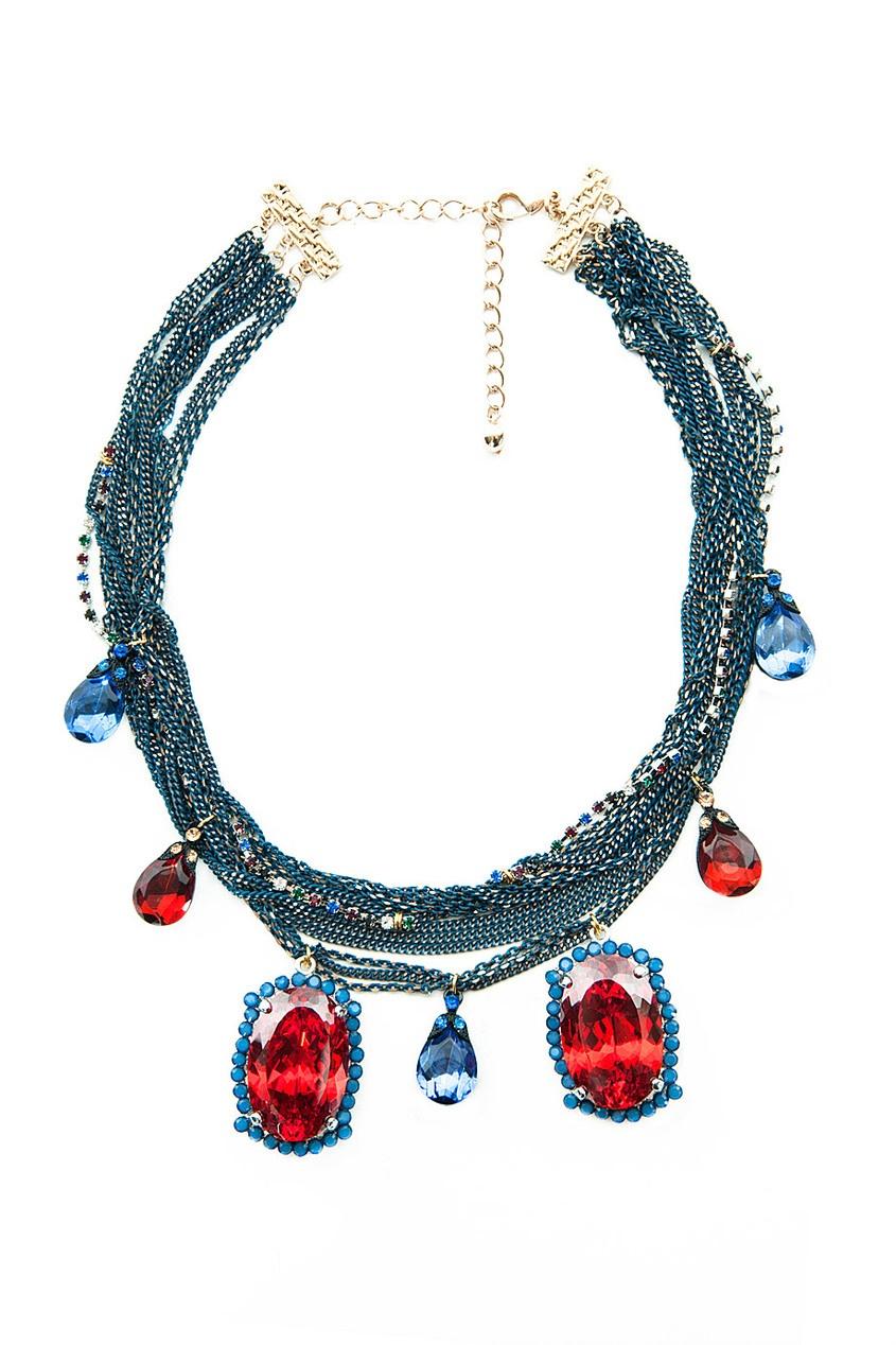 Ожерелье из металла и стекла Masterpeace