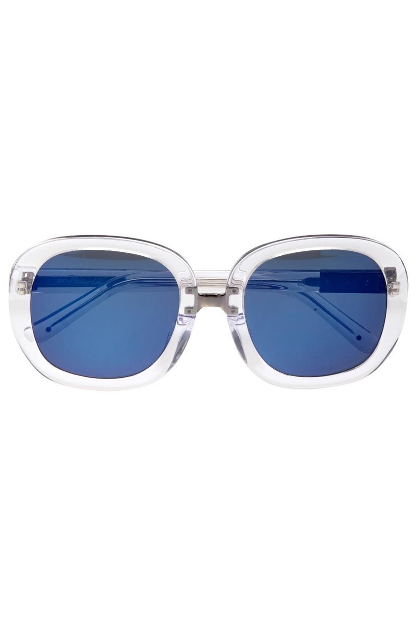 Linda Farrow Солнцезащитные очки Linda Farrow X 3.1 Phillip Lim linda farrow черепаховые солнцезащитные очки linda farrow x phillip lim