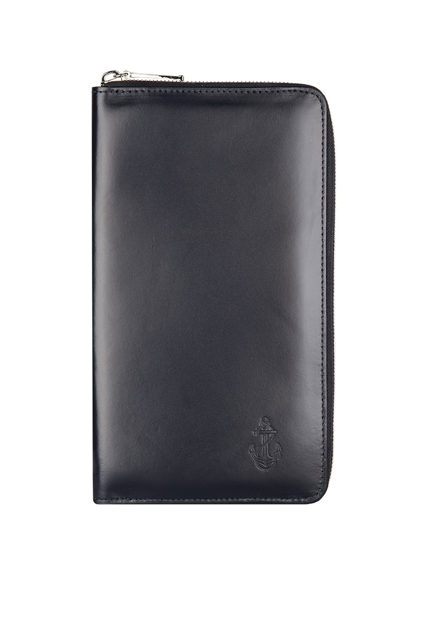 Gourji Кожаное портмоне «Якорь» портмоне мужское кожаное naijie nj605