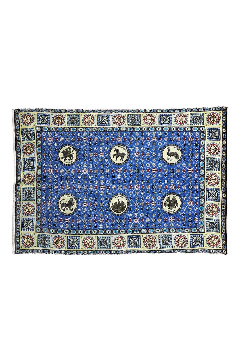 Gourji Кашемировая шаль «Византийский бестиарий»