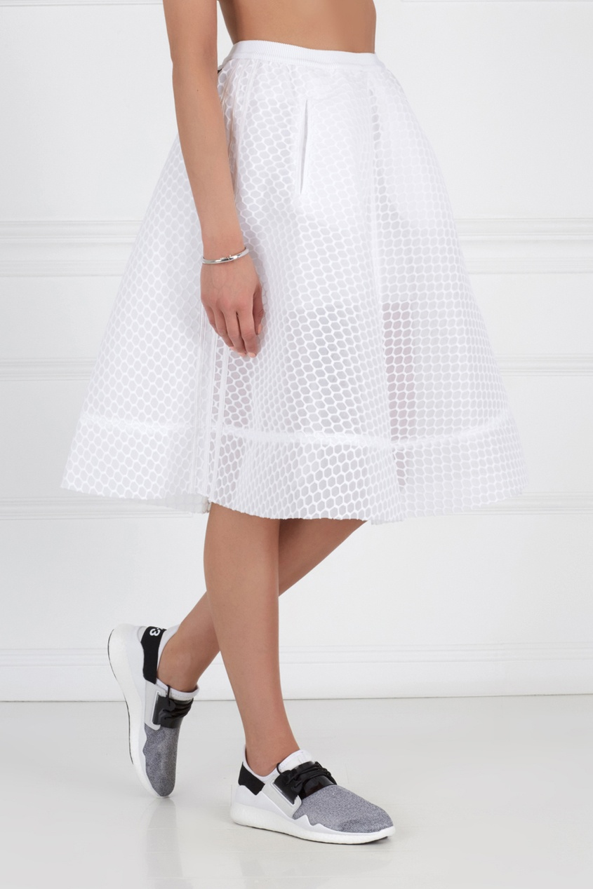 Однотонная юбка A-LINE SKIRT