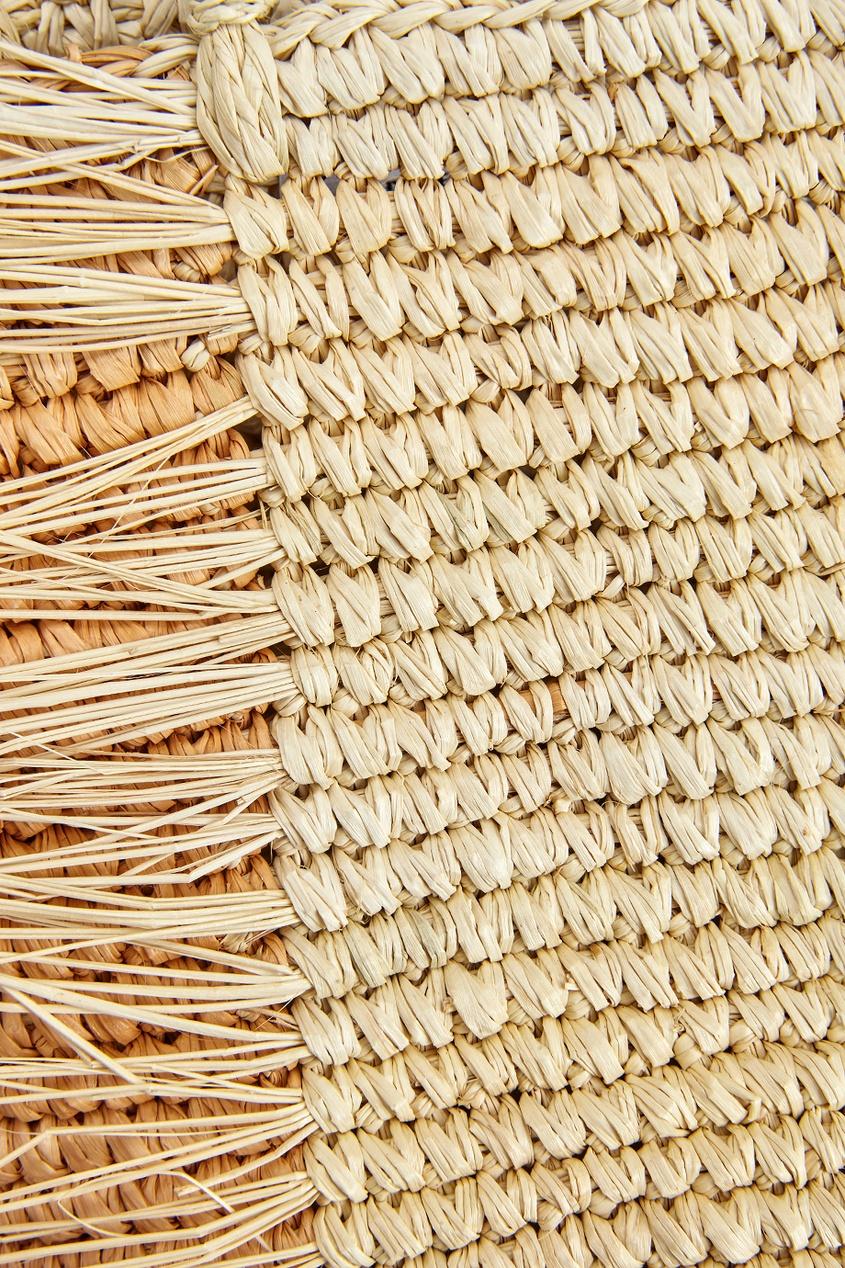 Соломенная сумка Baby от AIZEL