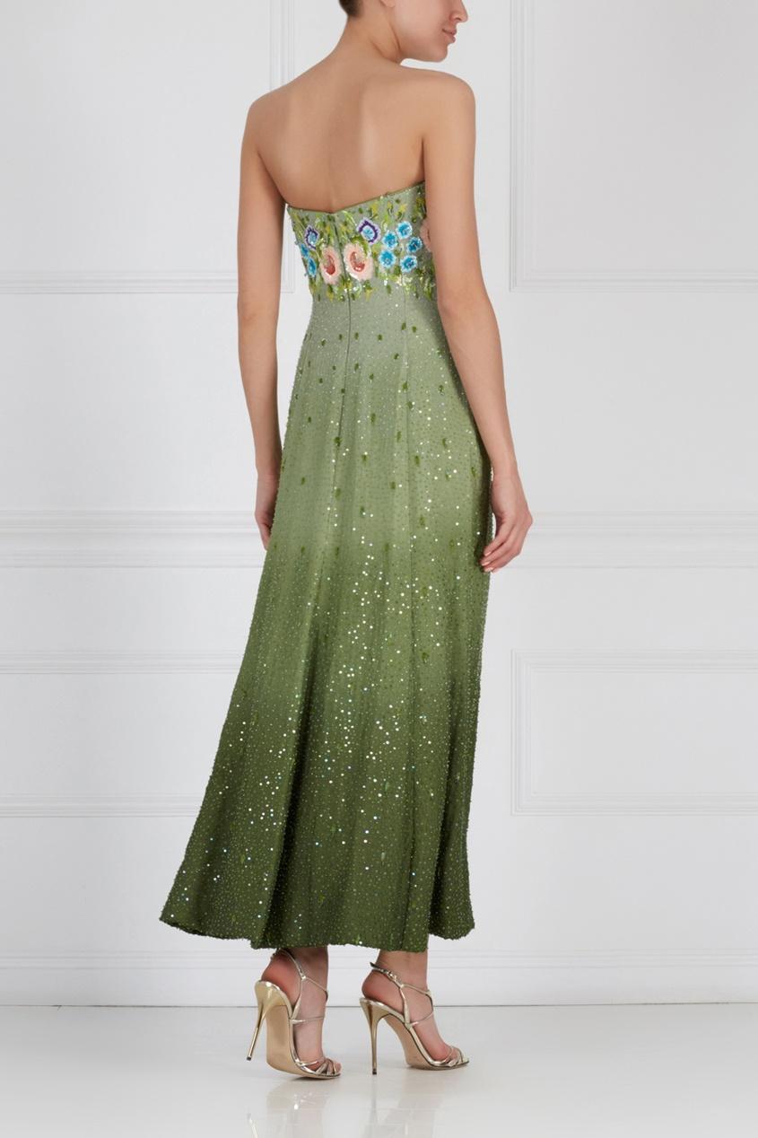 Платье с вышивкой (80-е)