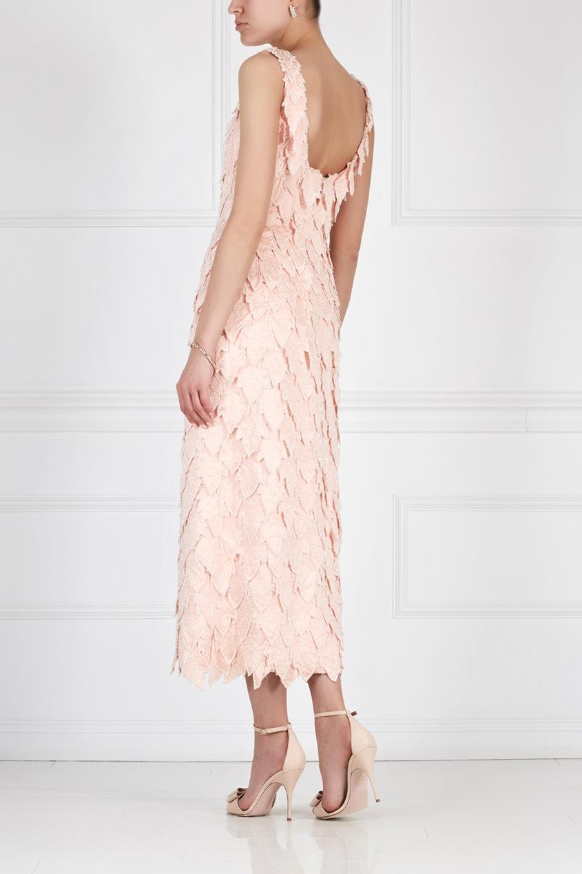 Платье с вышивкой (60-е)