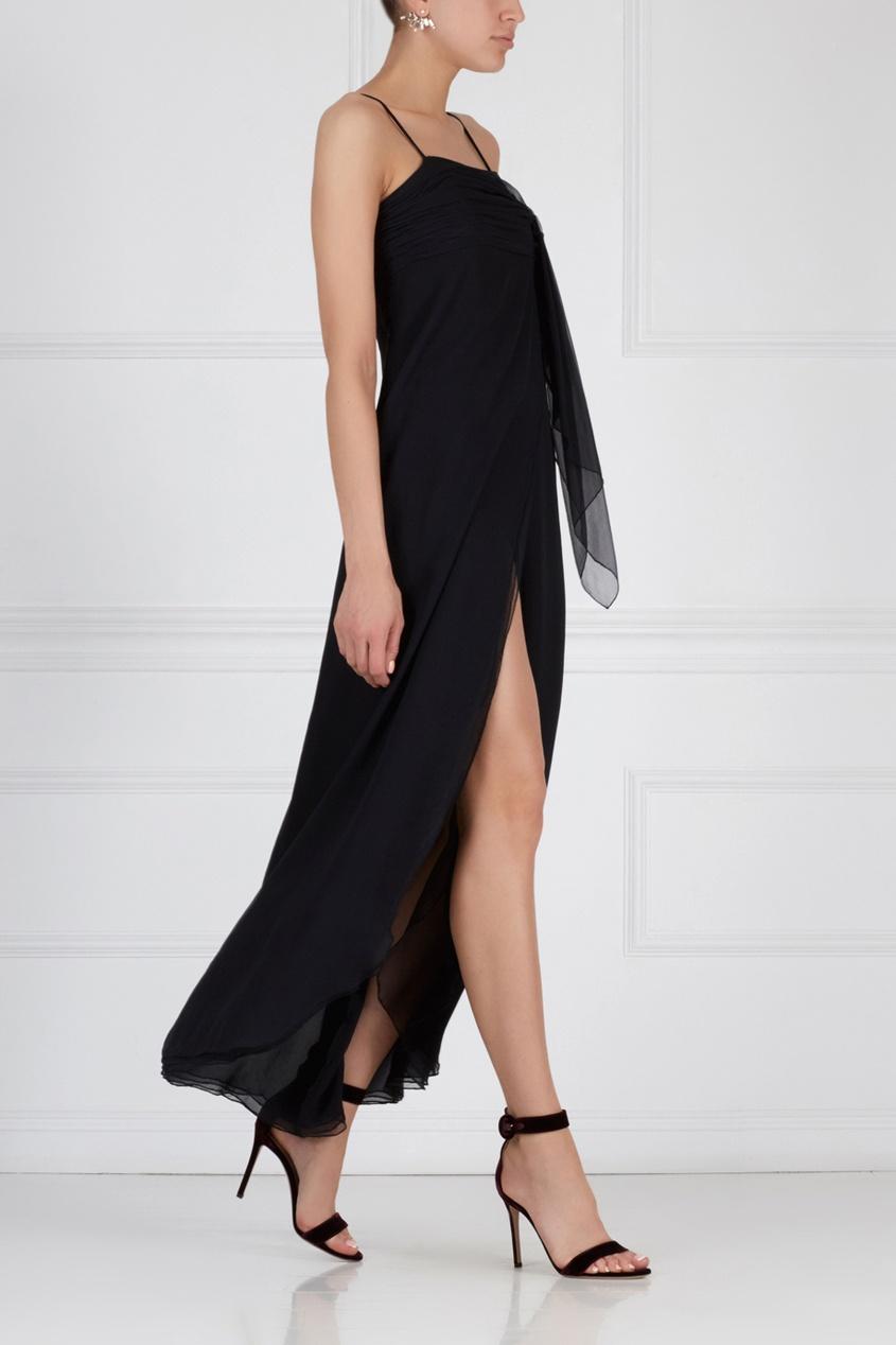 Шелковое платье VALENTINO (70-е)