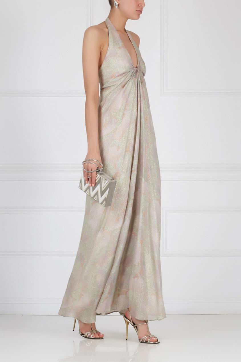 Платье с люрексом (70-е)