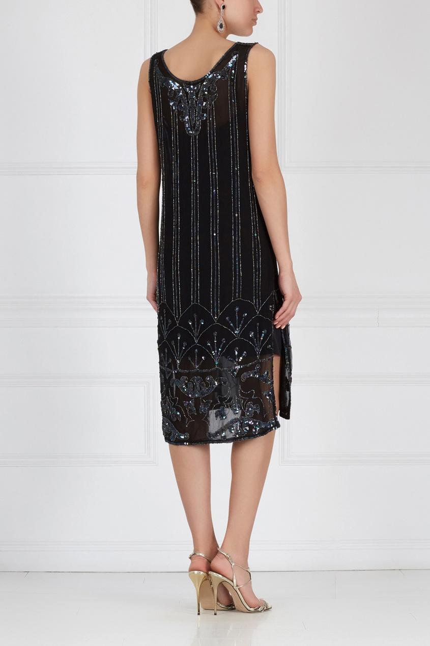 Платье с вышивкой JUDITH ANN (80-е)