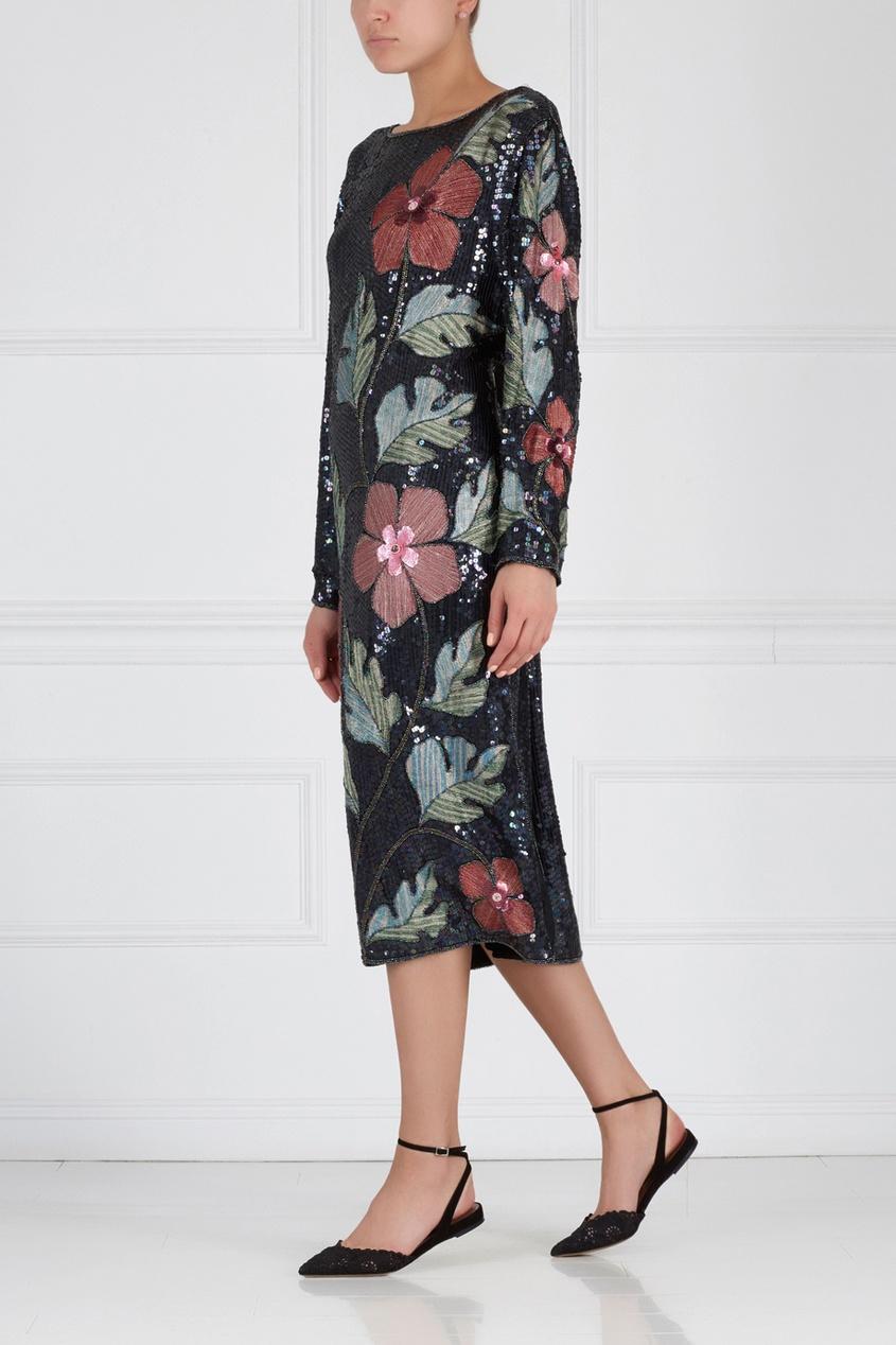 Платье с пайетками (80-е)