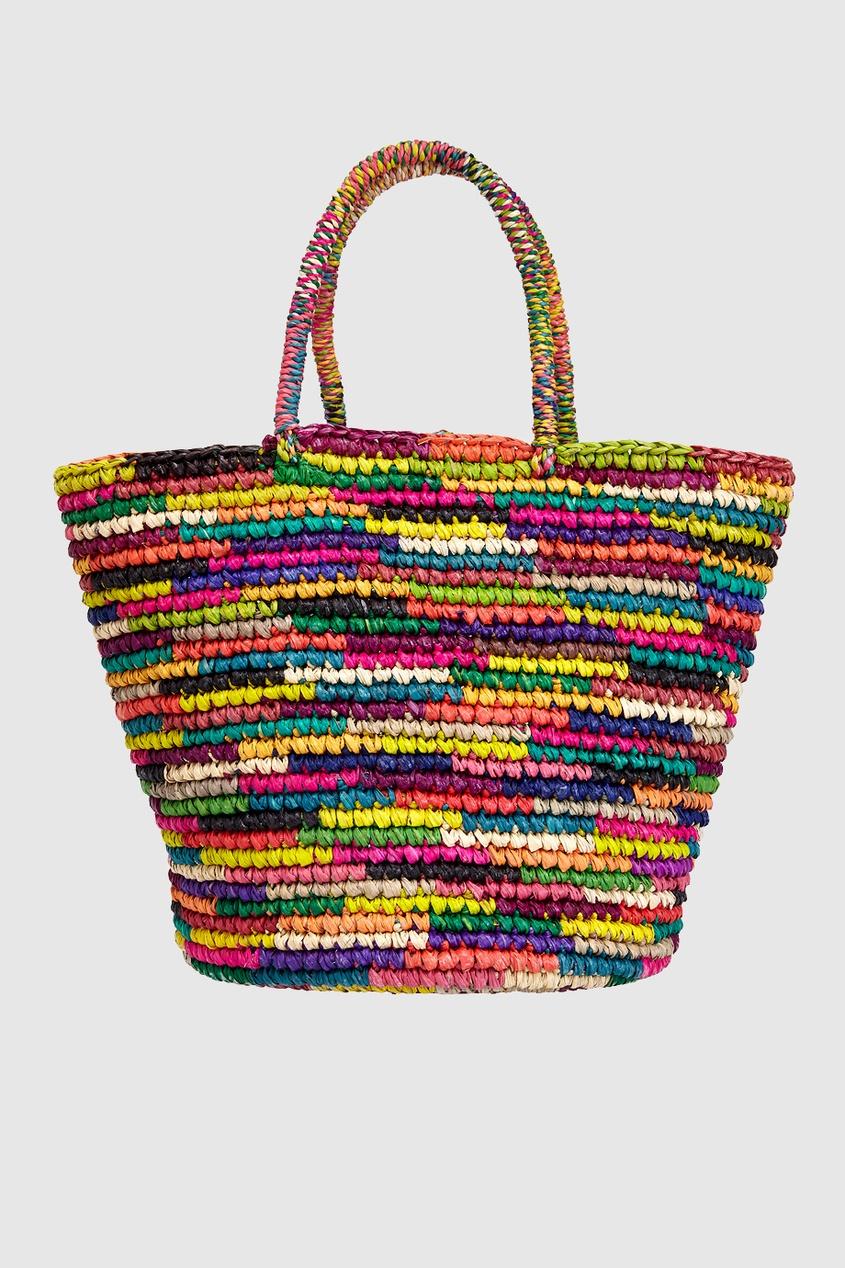 Соломенная сумка от AIZEL