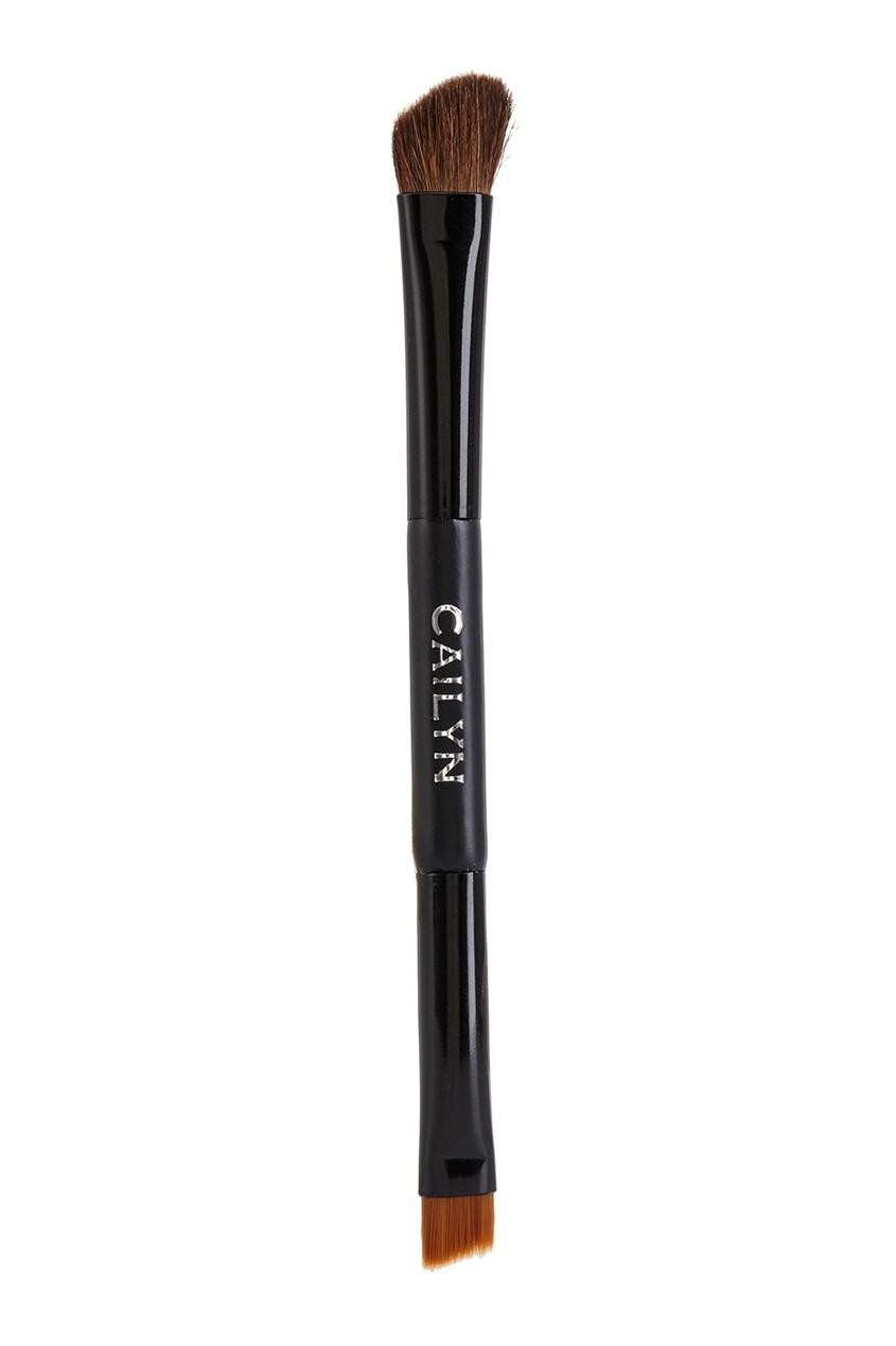 Двусторонняя кисть для макияжа глаз Double Side Brush-Eyeliner