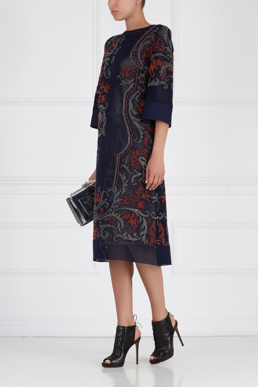 Платье с вышивкой Becca