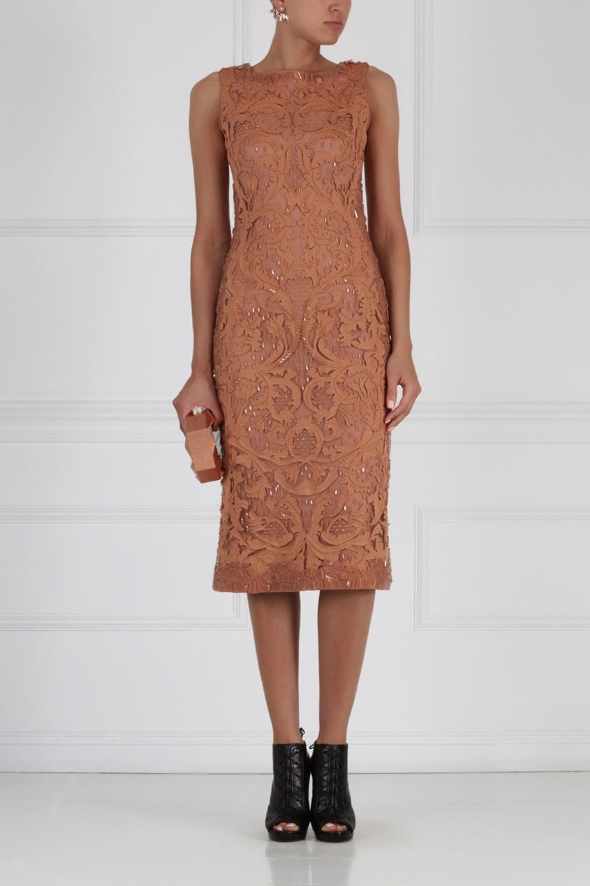 Платье с вышивкой Amania