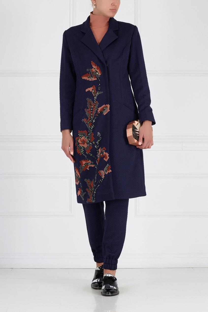 Пальто с вышивкой Joplin