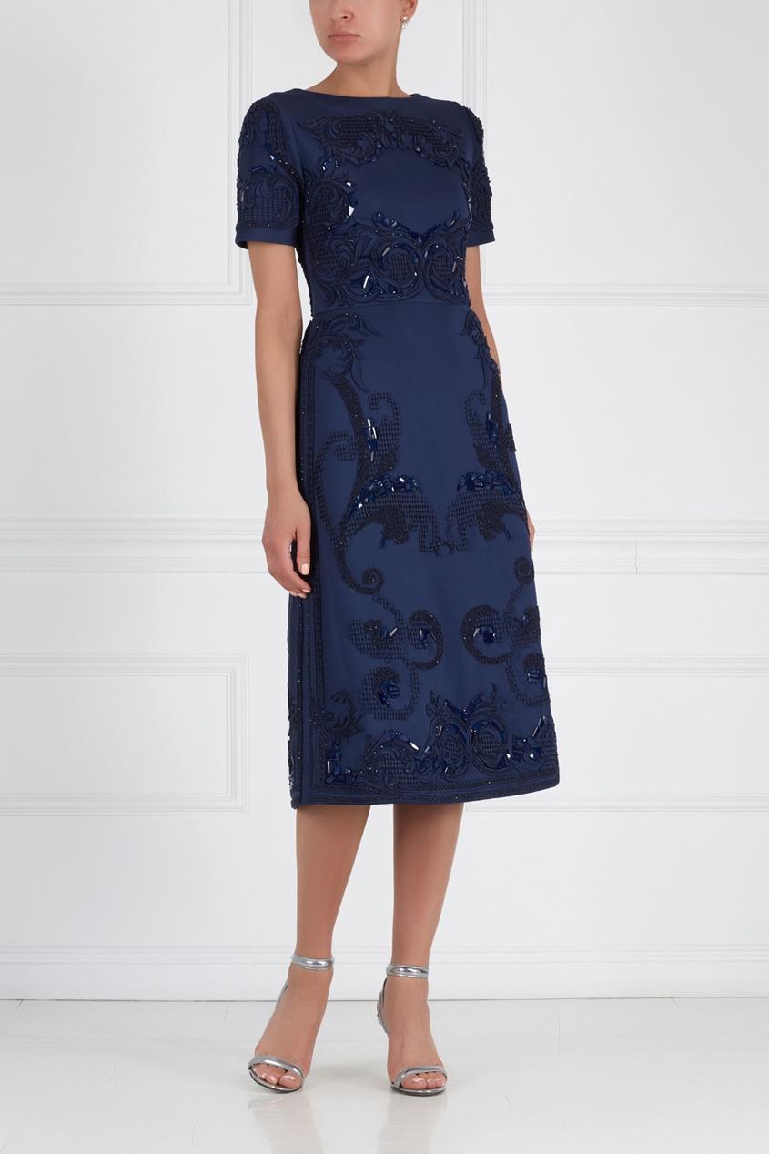 Платье с вышивкой Tamryn