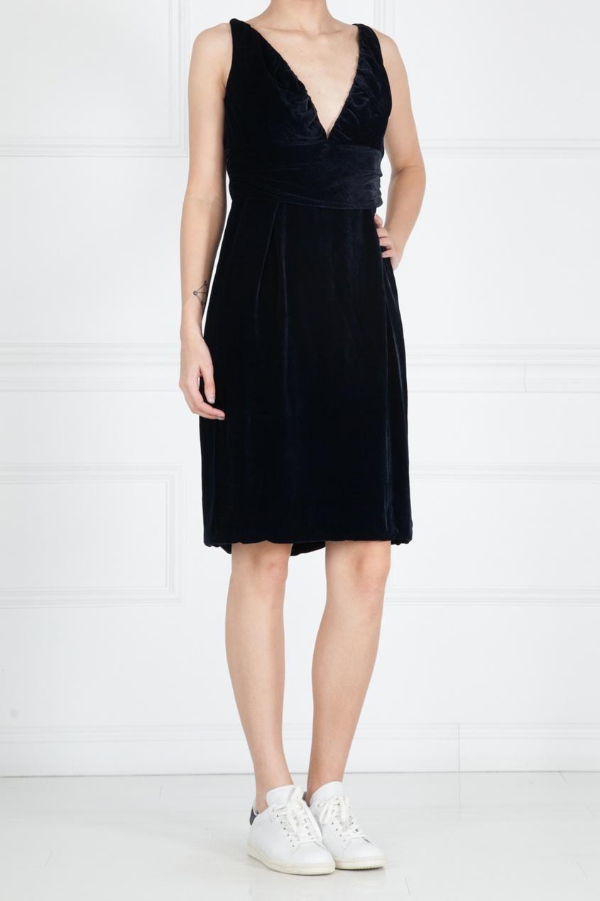 Купить со скидкой Платье из вискозы и шелка