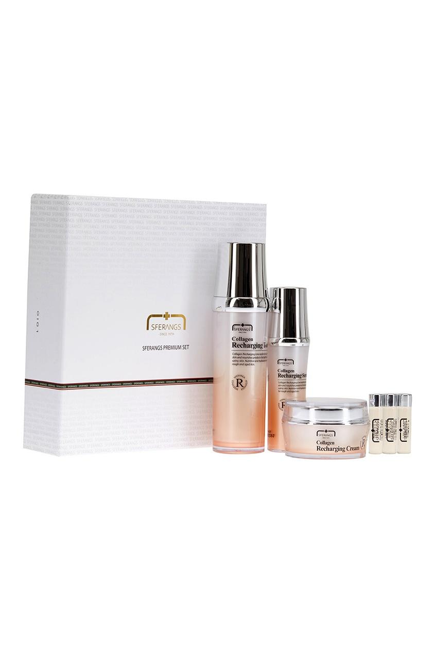 Sferangs Набор средств для кожи Collagen Soothing Set набор крем kora набор spa лифтинг уход набор