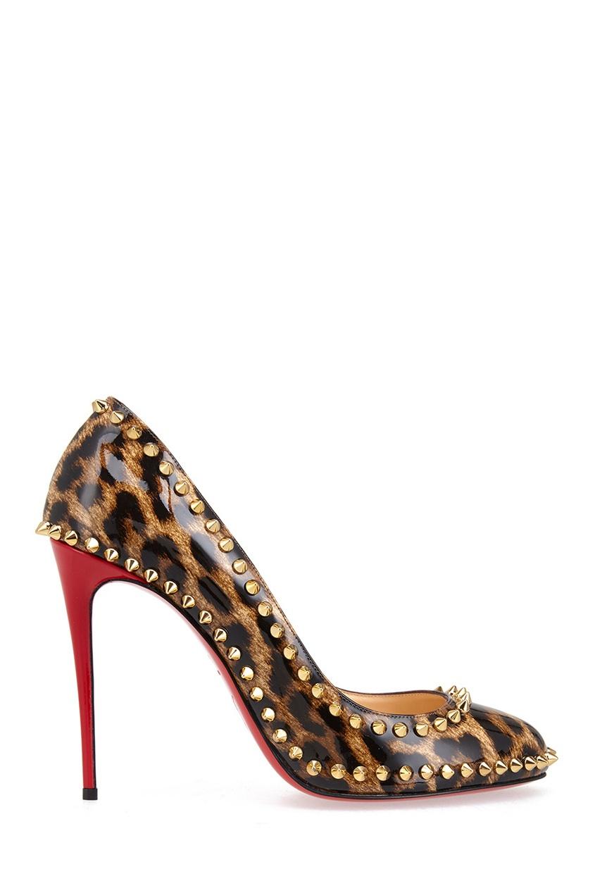 Туфли из лакированной кожи Dorispiky 100