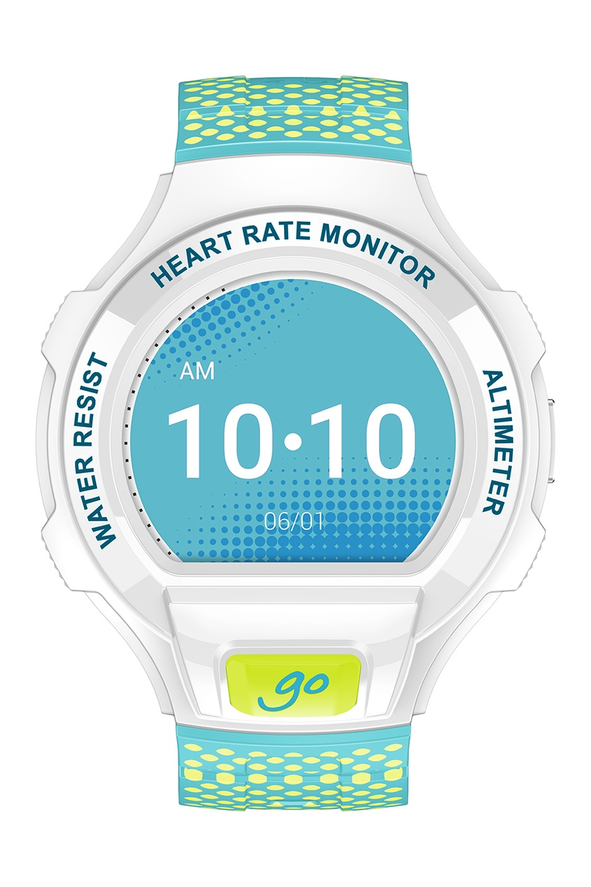 Фото 3 - Часы Alcatel OneTouch Watch Go белого цвета