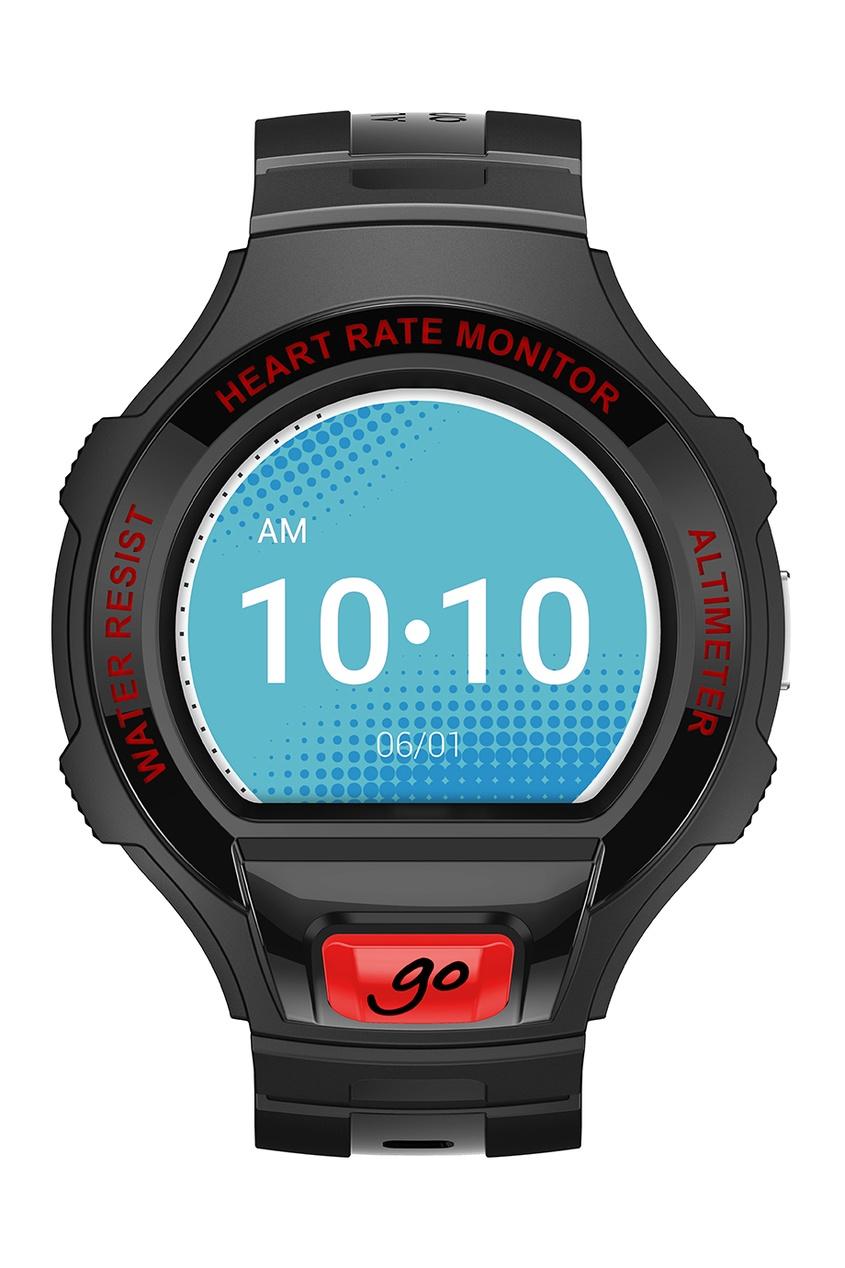 Фото 3 - Часы Alcatel OneTouch Watch Go черного цвета