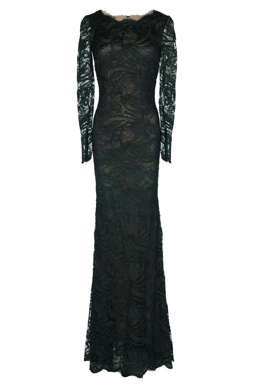 Вечернее платье с открытой спиной Emilio Pucci